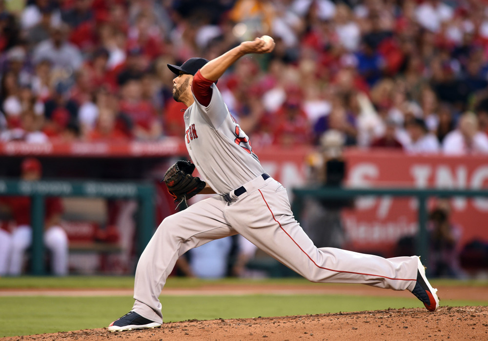 MLB: JUL 28 Red Sox at Angels